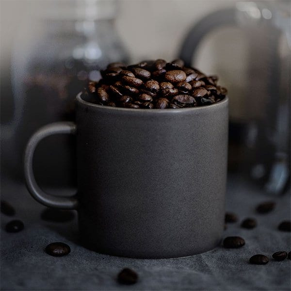Black and healthy coffee